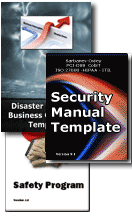 Disaster Plan Security Safety