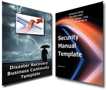 DR/BC and Security Manual Template Bundle