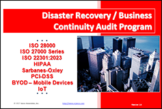 Goverment Auditior finds Disaster Recovery Plans fall shor