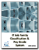 IT Job Family skill and compensation classification system
