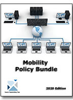 Work from Home impacts mobility infrastructure