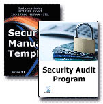 Security Manual Template and Security Audit Program