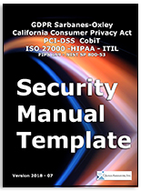 ... You Will Be Directed To A Page That Will Allow You To Download The  Table Of Contents And Selected Pages Of The Security Manual Template.