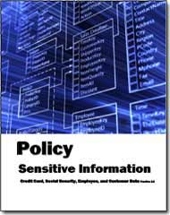 Sensitive Information Policy