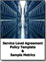 Service Level Agreement Metrics