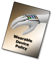 Wearable Device Policy